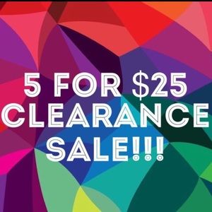 🔥🔥🔥5 for $25